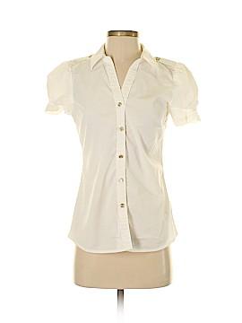 MICHAEL Michael Kors Short Sleeve Button-Down Shirt Size 4
