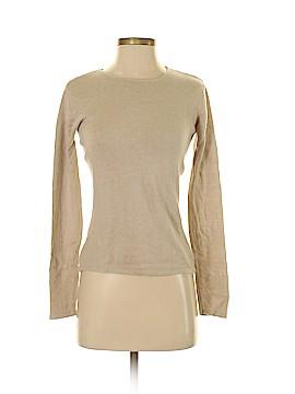 Oleg Cassini Silk Pullover Sweater Size S