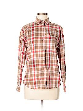 Diane von Furstenberg Long Sleeve Button-Down Shirt Size 8