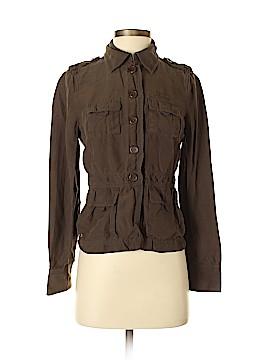J. Crew Long Sleeve Silk Top Size XS