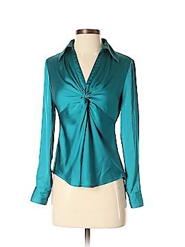 Ann Taylor Factory Long Sleeve Blouse Size 2 (Petite)