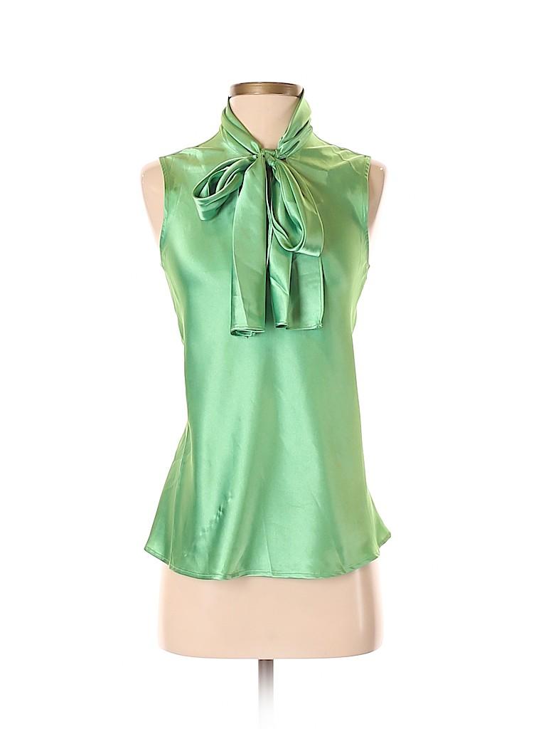a47ab29428d6a Nine West Light Green Sleeveless Blouse Size S - 78% off