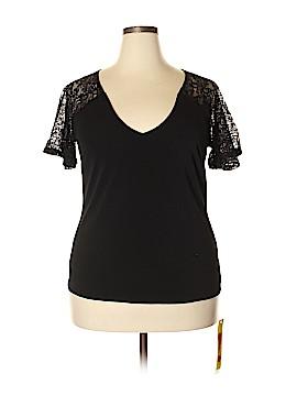 Anna Scholz Short Sleeve Top Size 14