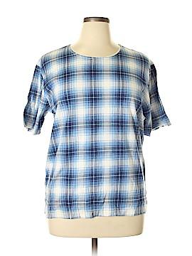 Fashion Bug Short Sleeve Blouse Size L