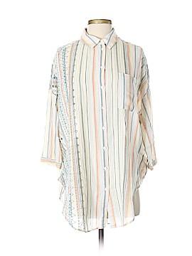 Akemi + Kin 3/4 Sleeve Button-Down Shirt Size XS - Sm