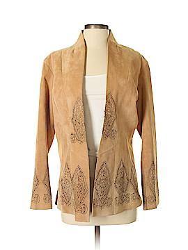 Margaret Godfrey Leather Jacket Size 4
