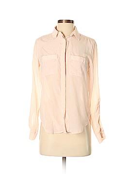 Ann Taylor Long Sleeve Silk Top Size XS