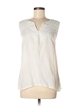 Cynthia Rowley TJX Sleeveless Blouse Size L