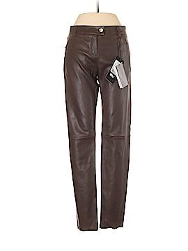 Escada Leather Pants Size 34 (EU)