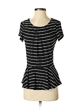 Jacqui-E Short Sleeve Blouse Size M
