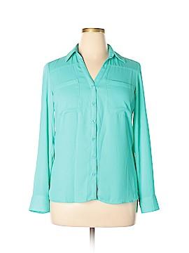 Express Long Sleeve Blouse Size L