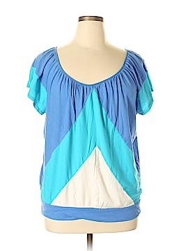 New York & Company Short Sleeve Top Size XL