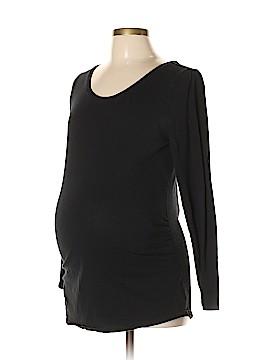 Bump Start by Motherhood Maternity Long Sleeve Top Size L (Maternity)