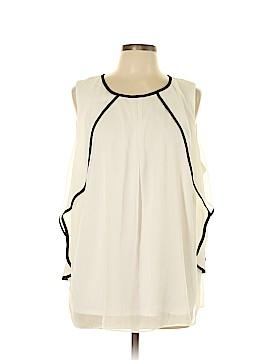 AGB Sleeveless Blouse Size 1X (Plus)