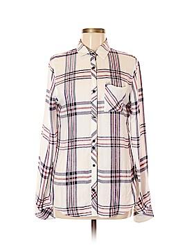 Kenar Long Sleeve Button-Down Shirt Size M