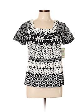 Style&Co Short Sleeve Blouse Size 8 (Petite)