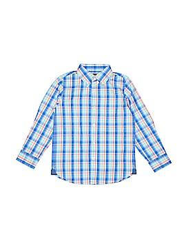E. Land Long Sleeve Button-Down Shirt Size 5