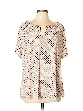 Worthington Short Sleeve Blouse Size XL