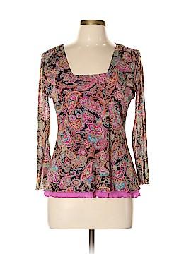 Sigrid Olsen Sport 3/4 Sleeve Top Size L