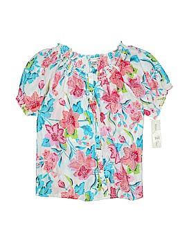 Rebecca Malone Short Sleeve Button-Down Shirt Size M