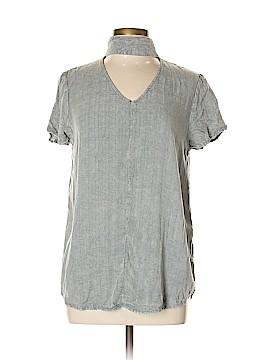 KLD Signature Short Sleeve Blouse Size L