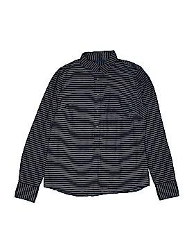 Merona Long Sleeve Button-Down Shirt Size S