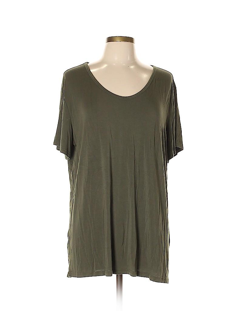 Amaryllis Women Short Sleeve T-Shirt Size XL