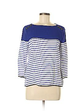 Zara Basic 3/4 Sleeve Blouse Size M