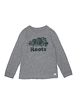 Roots Kids Long Sleeve T-Shirt Size M (Kids)