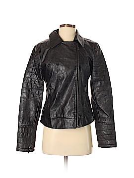 Buffalo by David Bitton Faux Leather Jacket Size S