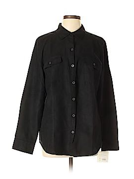 Croft & Barrow 3/4 Sleeve Blouse Size L