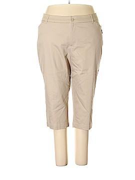 St. John's Bay Khakis Size 22 (Plus)