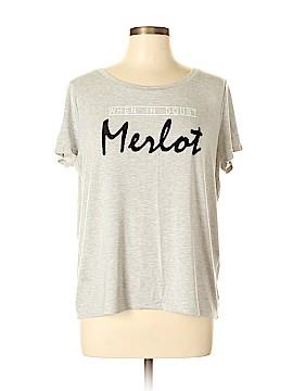 White House Black Market Short Sleeve T-Shirt Size L