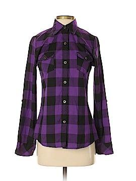 American Rag Cie Long Sleeve Button-Down Shirt Size S