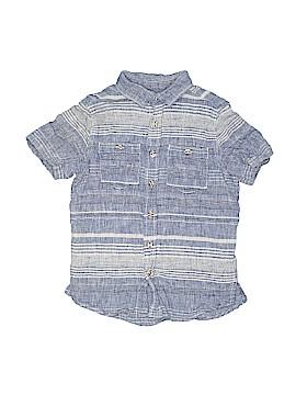 Cat & Jack Short Sleeve Button-Down Shirt Size 6 - 7