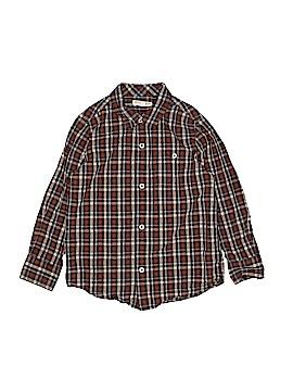 Tucker + Tate Long Sleeve Button-Down Shirt Size 5 - 6