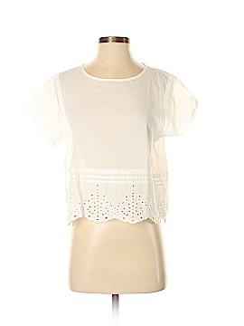 Frenchi Short Sleeve Blouse Size M