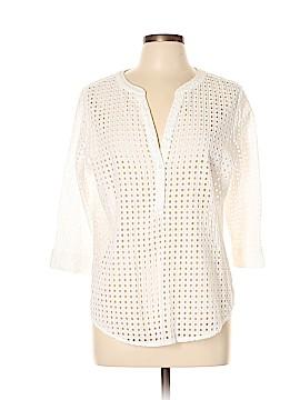Liz Claiborne 3/4 Sleeve Blouse Size L