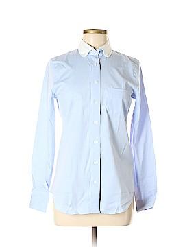 Coach Long Sleeve Button-Down Shirt Size 0