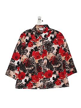 Kim Rogers 3/4 Sleeve Blouse Size 10 (Petite)