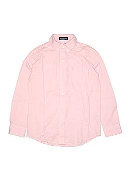 Nautica Long Sleeve Button-Down Shirt Size 12