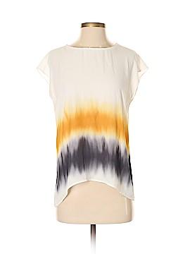 Simply Vera Vera Wang Short Sleeve Blouse Size S (Petite)