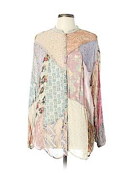 Sacred Threads Long Sleeve Blouse Size XL
