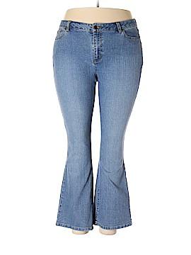 Crazy Horse by Liz Claiborne Jeans Size 18 (Plus)