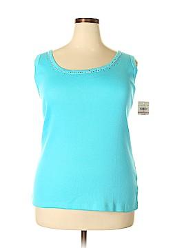 St. John's Bay Sleeveless T-Shirt Size 2X (Plus)