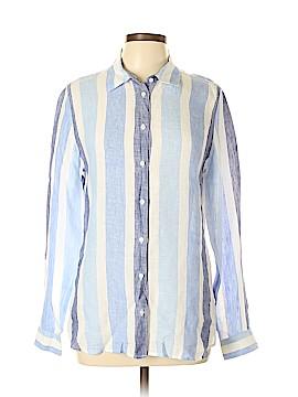 Island Company Long Sleeve Button-Down Shirt Size L