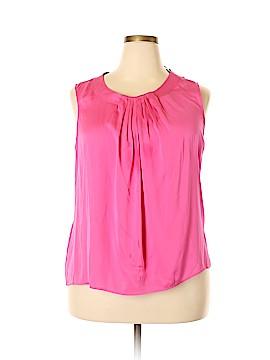 Talbots Sleeveless Silk Top Size XL
