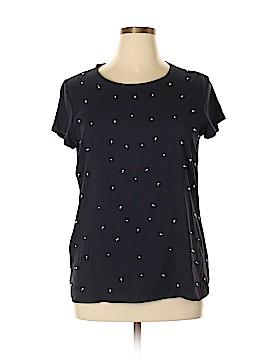 Ann Taylor Short Sleeve Blouse Size XL