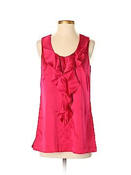 Saks Fifth Avenue Sleeveless Silk Top Size 4