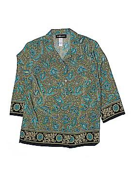 Sag Harbor 3/4 Sleeve Blouse Size L